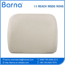Contoured molds lumbar foam cushion/Car seat Travel Portable Memory Foam Lumbar Cushion