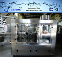 Customized 6000BPH bottled water manufacturing equipment