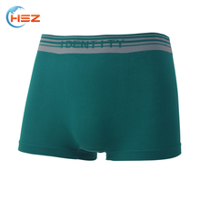 HSZ-0053 High Quality Arab Men Plain Underwear Pictures Of Mens Seamless Boxer Briefs Wholesale Boys Wearing Shorts