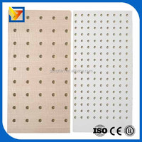 perforated acoustic panel/perforated celing/fiber glass ceiling