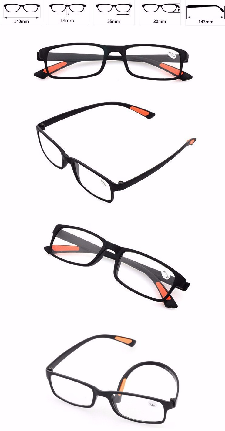 High quality cheap price YNJN wholesale custom logo no brand adjustable reading glasses