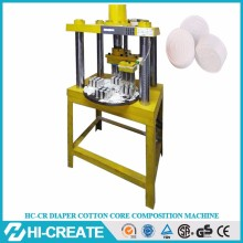 Compressed towel machine