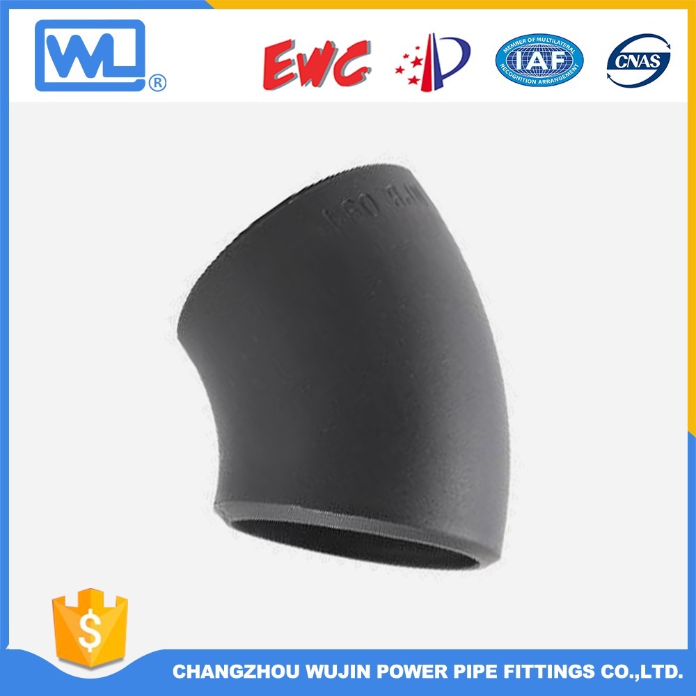 Astm A240 1.5D Pipe Elbow 45 Degree Elbow Dimensions
