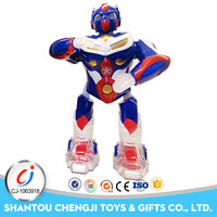 Wholesale plastic toy musical electric smart robot for kids