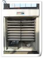 CE approved full automatic high quality turky/goose/quail/chicken egg incubator for sale made in china