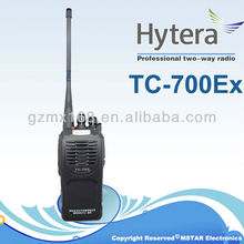 Explosion-proof radio Hytera TC-700Ex PLUS Professional Intrinsically Safe Two-way Radio