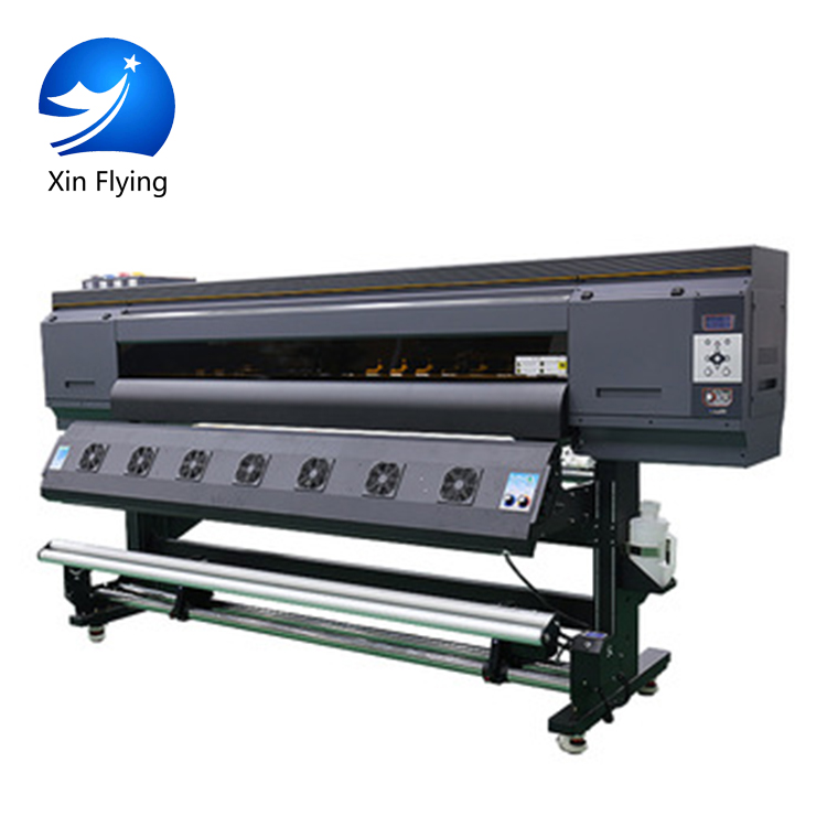 China Automatic Multicolor Print Speed Is 120m2/h Water Transfer Film Inkjet Price Flex Banner Textile Printer