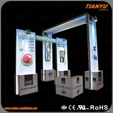 Portable Standard China Booth Exhibition Partition Walls Display Design 3x3 Exhibition Booth With PVC Panel