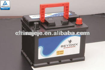 Car Storage Battery MFDIN55 12V55AH