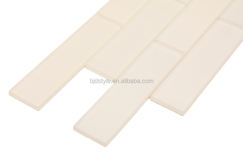 Heat Resistant Ceramic Tiles Matt Finish Glass Floor Tile