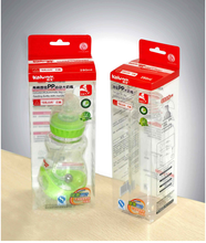 clear plastic nursing bottle packaging box
