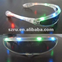 Promotional Brand New Flashing LED Glow Sunglasses for Party Club