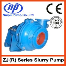30 years factory Hot sales Centrifugal Horizontal ZJ Slurry Pump
