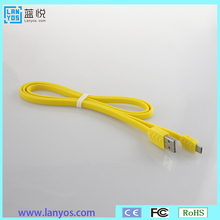 micro usb charging cable for Samsung flat usb midi cable