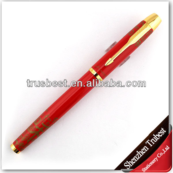 2014 good and fine promotional fountation pen