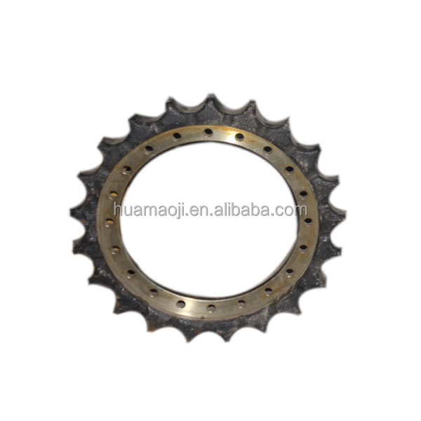 Excavator sprocket rim driving gear/ swing gear