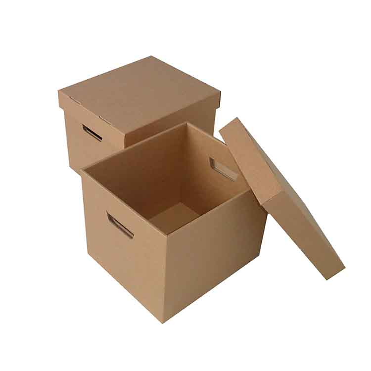Hot new elegant cardboard gift box carry handle