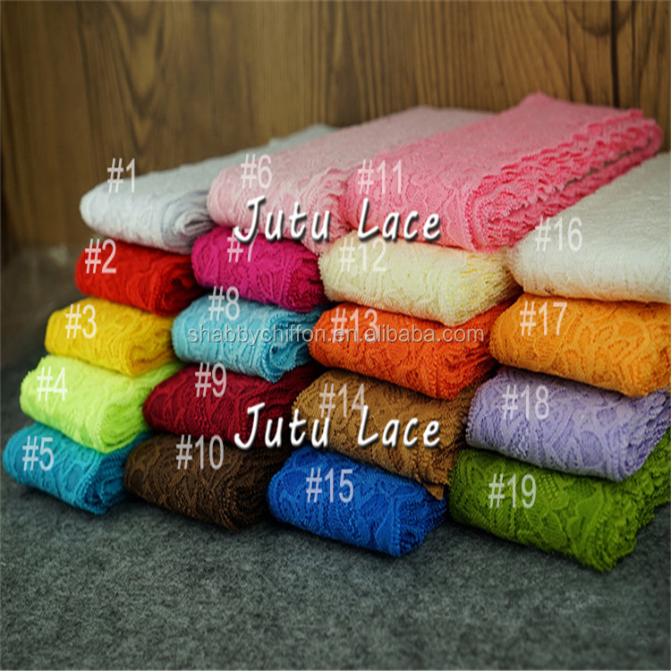 wholesale Latest style foe tie, FASHION 8cm lace elastic on sale, elastic foe