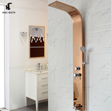 Factory price stainless steel 3 panel sliding shower door