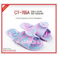 New Healthy Reflex Acupuncture Acupressure Massage Slippers Sandals Shoes CT-705