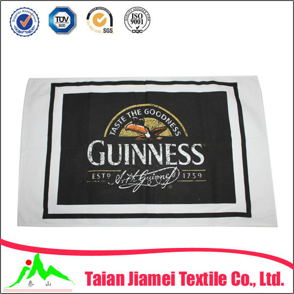 kitchen textile cotton material printed dish towels (many designs for choose)