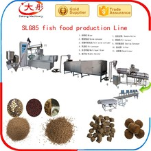 High efficiency fish food processing equipment