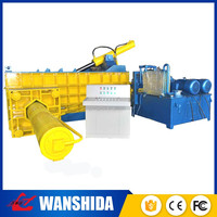 vertical hydraulic bales of mixed used clothing for sale baler machine