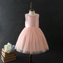 Formal kids western ball gown latest fashion design 10 year old girl dresses for party