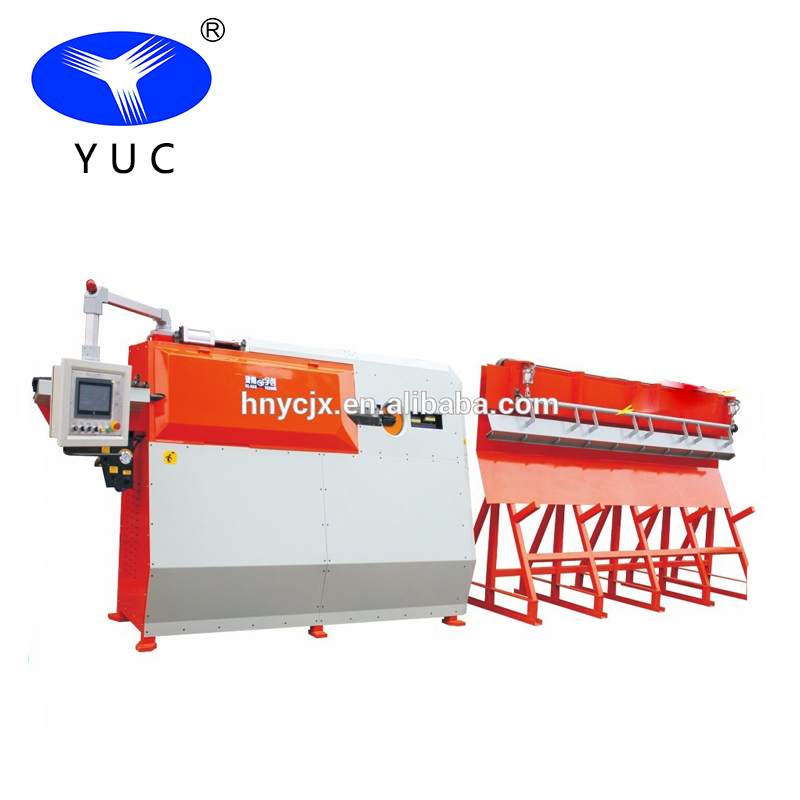 Fully automatic CNC wire stirrup bending and cutting machine for sell.