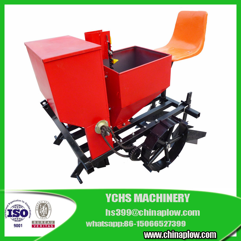 Single row 3 point tractor potato planter in factory price with cheap price