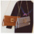 Three colors square chain bag envelope cross body bag
