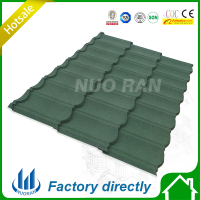 Decorative stone coated metal classic roofing tile/roofing tile design