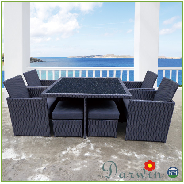 wholesale aluminum pe rattan chair