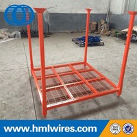 Heavy duty Q235 foldable adjustable storage tire/truck racking for sale