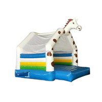 Funny zebra outdoor camping inflatable tent