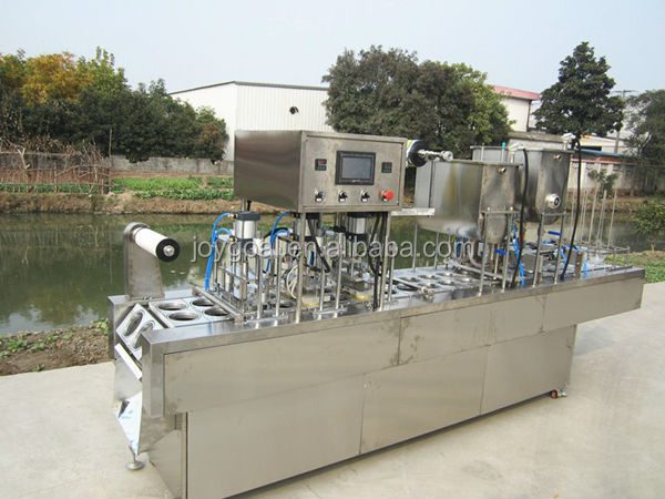 high quality cup filling and sealing machine