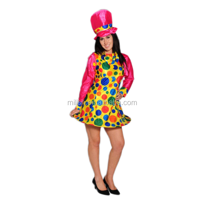 Wholesale Party Cheap adult sexy costume photos clown MAA-20