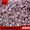 chinese ourdoor red granite paver,natural red granite paving stone