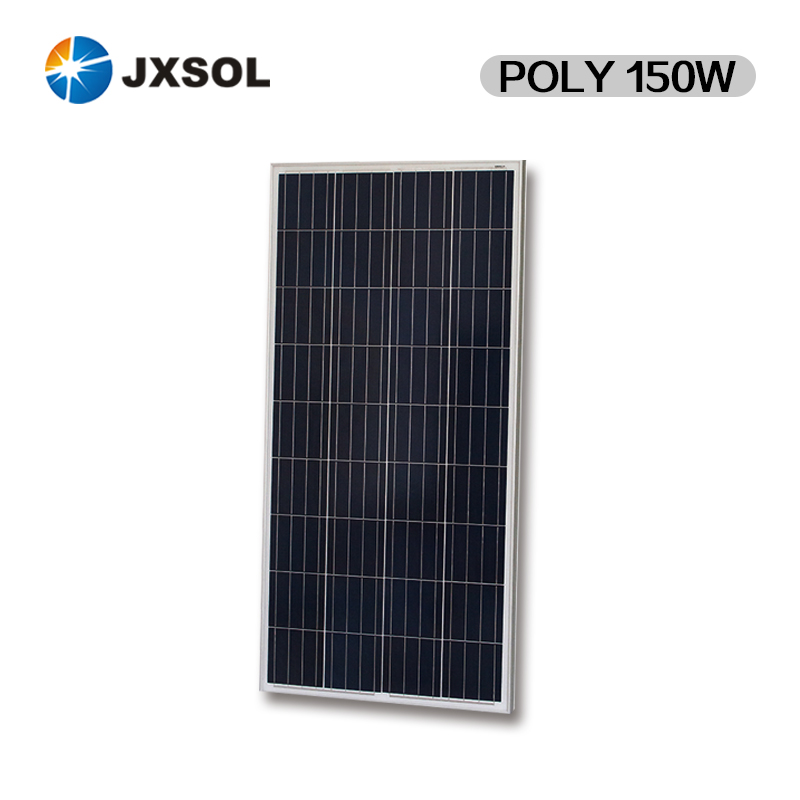 A grade cell high efficiency 150w pv solar panel of best factory