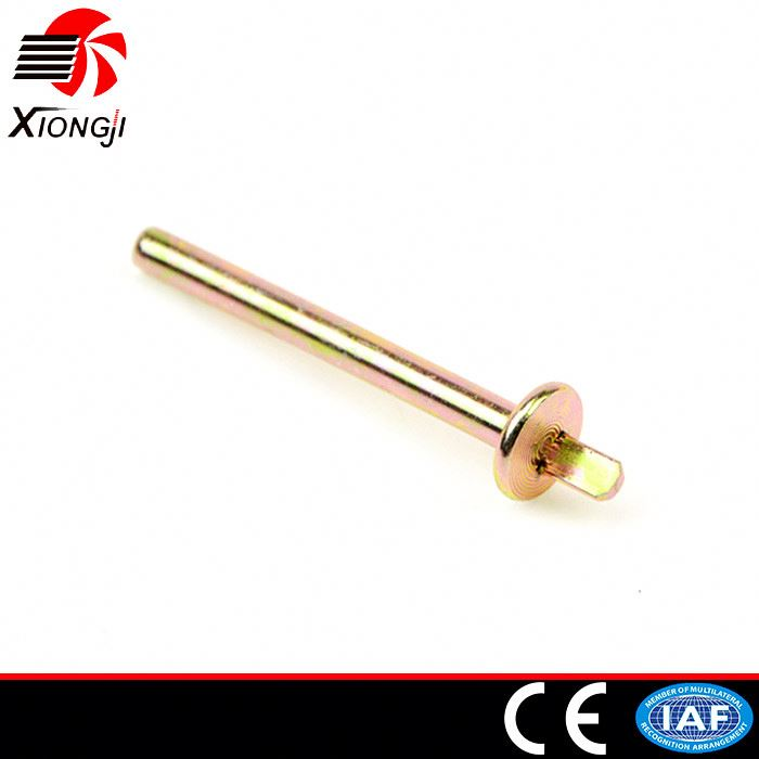 OEM Versatile Durable Carbon Steel Zinc Plated Ground Screw Anchor With Flange For Solar Mounting