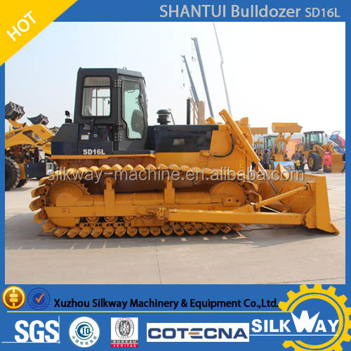 China famouse brand SHANTUI Swamp bulldozer SD16L for sale and good service