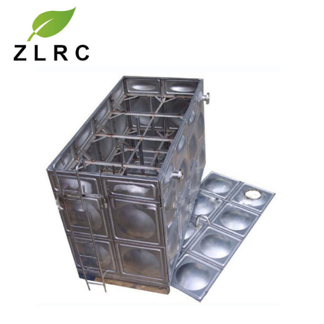 Square Type Stainless Steel Water Tank Modular Panels/ss Water Tank 1000 Liters