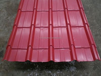 Reliable manufacturer and cheap price onduline coated metal roofing for prefab house
