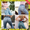 Sexy girls tight pants butt lifting womens skinny denim jeans wholesale designer ladies high waist blank jeans