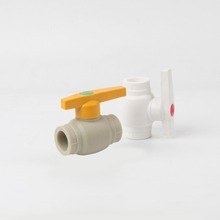 ( PPR BALL VALVE ) size 1/2 3/4 PPR plastic pipe use hot cold water valves PP-R pipe ball valve