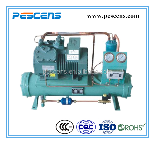 Bitzer Piston Compressor Water Cooled refrigeration condensing unit