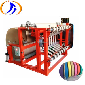 Dual Axis Jumbo Paper Roll Slitting and Rewinding Machine