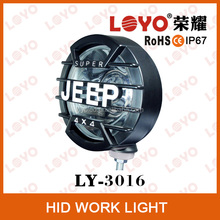 12V Spot Beam 35W/55W Auto Lighting System HID Tractor Working Lights Remote Control HID Work Light