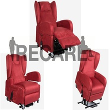 Manufactory Classical PU Dual Motor Power Lift Recliner Chair
