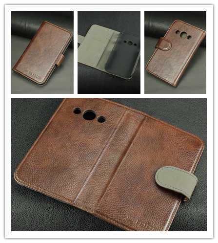 China Factory FRIFUN Leather Flip Case For Samsung Galaxy Express